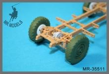 MR-35511  s. gl. E. PKW schwerer Einheits PKW Horch 108  Set #2    (ICM, TAMIYA)