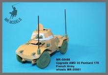MR-35498 Rüstsatz und Geschützrohr AMD 35 Panhard 178 französ. Armee
