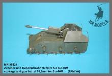 MR-35524 Geschützrohr 76,2mm für SU-76M      (TAMIYA)