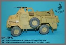 MR-35502  GM C15TA Trumphy Spanische Legion Nordafrika 1960er Jahre   (IBG)