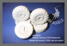 MR - 35192  Wheel set Unimog U1300L tyre pattern