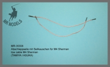 MR-35556   tow cable M4 Sherman        (TAMIYA / ASUKA)