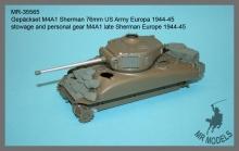 MR-35565  Gepäckset M4A1 Sherman 76mm US Army Europa 1944-45