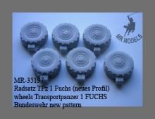 MR - 35197 TPZ 1 FUCHS Rädersatz neues Profil