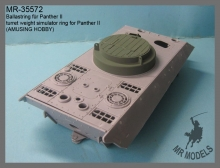 MR-35572  turret weight simulator ring for Panther II          (AMUSING HOBBY)