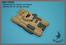 MR-35579  Geschützrohr 40mm (2Pdr.) und BESA MG für Valentine      (TAMIYA)