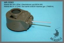 MR-35583  Matilda Mk.III/IV (2Pdr.) Geschützrohr und BESA MG      (TAMIYA)