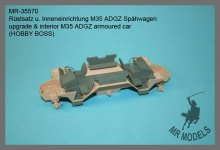 MR-35570   upgrade & interior M35 ADGZ armoured car              (HOBBY BOSS)