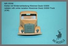 MR-35590  Kühler mit Winterverkleidung Klöckner-Deutz S3000     (ICM)