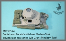 MR-35594   stowage and accesories  M3 Grant Medium Tank    (TAKOM)