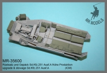 MR-35600   upgrade & stowage Sd.Kfz.251 Ausf.A  ( ICM )
