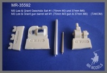 MR-35592   M3 Lee & Grant Geschütz Set #1 (75mm M3 und 37mm M6)       (TAKOM)