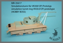 MR-35617  turret simulator Vk30.01(P)