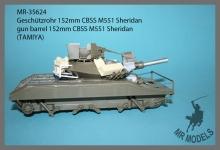 MR-35624  Geschützrohr 152mm CBSS M551 Sheridan      (TAMIYA)