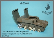 MR-35609   deep wading trunks M3 Stuart Light Tank        (TAMIYA)