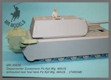 MR-35626  armoured rear fuel tank Pz.Kpf.Wg. MAUS                    (TAKOM)