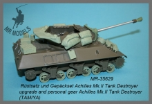 MR-35629   Stowage and gear Achilles Mk.II Tank Destroyer      (TAMIYA)