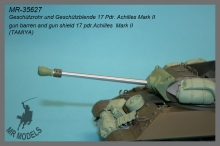 MR-35627  Gun barrel and gun shield Achilles Mk.II