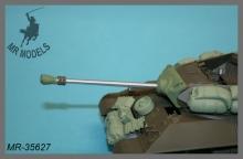 Geschützrohr und Geschützblende Achilles Mk.II
