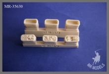 MR-35630   US Army Vietnam  Mermite  Isolierboxen für Verpflegung  (Set mit 12 Stück)