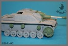 MR-35642    Saukopf gun mount and and vehicle upgrade parts Sturmhaubitze 42    (MBK / DAS WERK 2in1 kit)