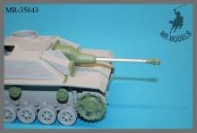 MR-35643 Saukopfblende und Fahrwerksteile Sturmgeschütz III     MBK / DAS WERK 2in1 kit