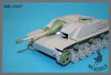 MR-35647  gun barrel 7,5cm StuK 40      (MBK / DAS WERK 2in1 kit)