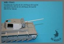 MR-35641   Geschützrohr 5cm Kw.K 42 L/60 Panzer III Ausf.M    (BLITZ by Takom)