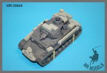 MR-35648   Gepäckset #1 Panzer IV Ausf. F1 Ostfront   (TAMIYA)