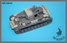 MR-35649   stowage and personal gear Panzer IV Ausf. F1 D.A.K.          (TAMIYA)