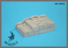 MR-35652   Ladegut #1 für Lkw 3to. Wehrmacht Größe 57,5 x 93mm  (ICM MB L3000 sowie  Lkw 3to. TAMIYA, ICM, ITALERI, DML)