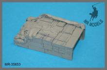 MR-35653  Ladegut #2 für Lkw 3to. Wehrmacht Größe 56 x 93mm     (ICM KD S330 sowie Lkw 3to. TAMIYA, ICM, ITALERI, DML)
