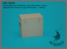 MR-16056  equipment and store box, large, Wehrmacht   (1 pieces)