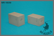 MR-16059  equipment and store boxes, multi-purpose, Wehrmacht Set #2    (2pieces)