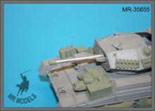MR-35656  Gun barrel 57mm (6 Pdr.) Mk.V for Crusader Mk.III (Border Models)