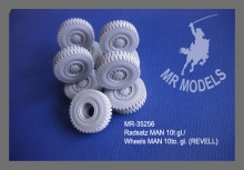 MR - 35256  Wheels MAN 10to. gl. [for REVELL]