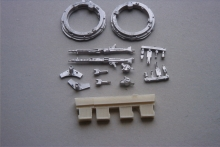 MR - 35257 Machine gun mount MAN 5, 7, 10t gl.  (incl. 2 sets)