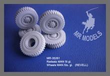 MR - 35261 Rädersatz MAN 5t gl. [für REVELL]